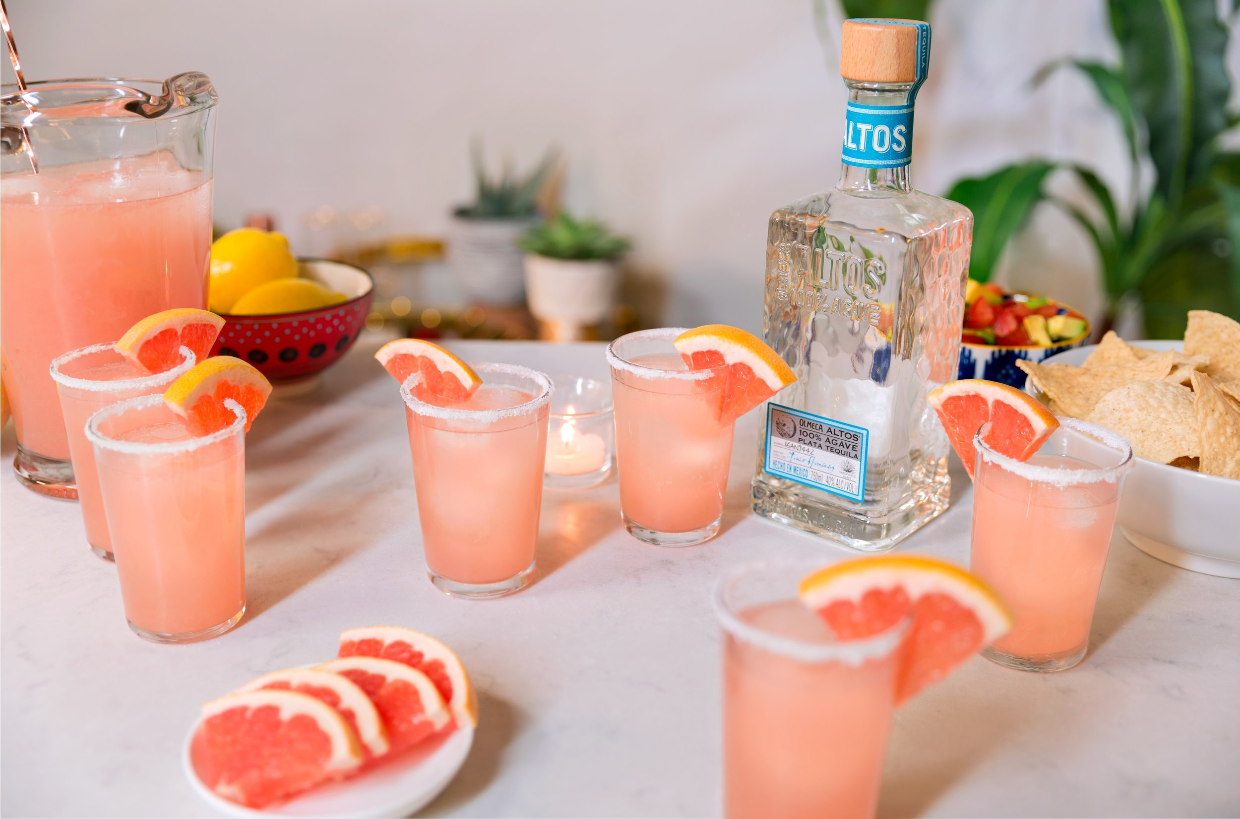 Altos Crafted Paloma on The Gilded Bellini