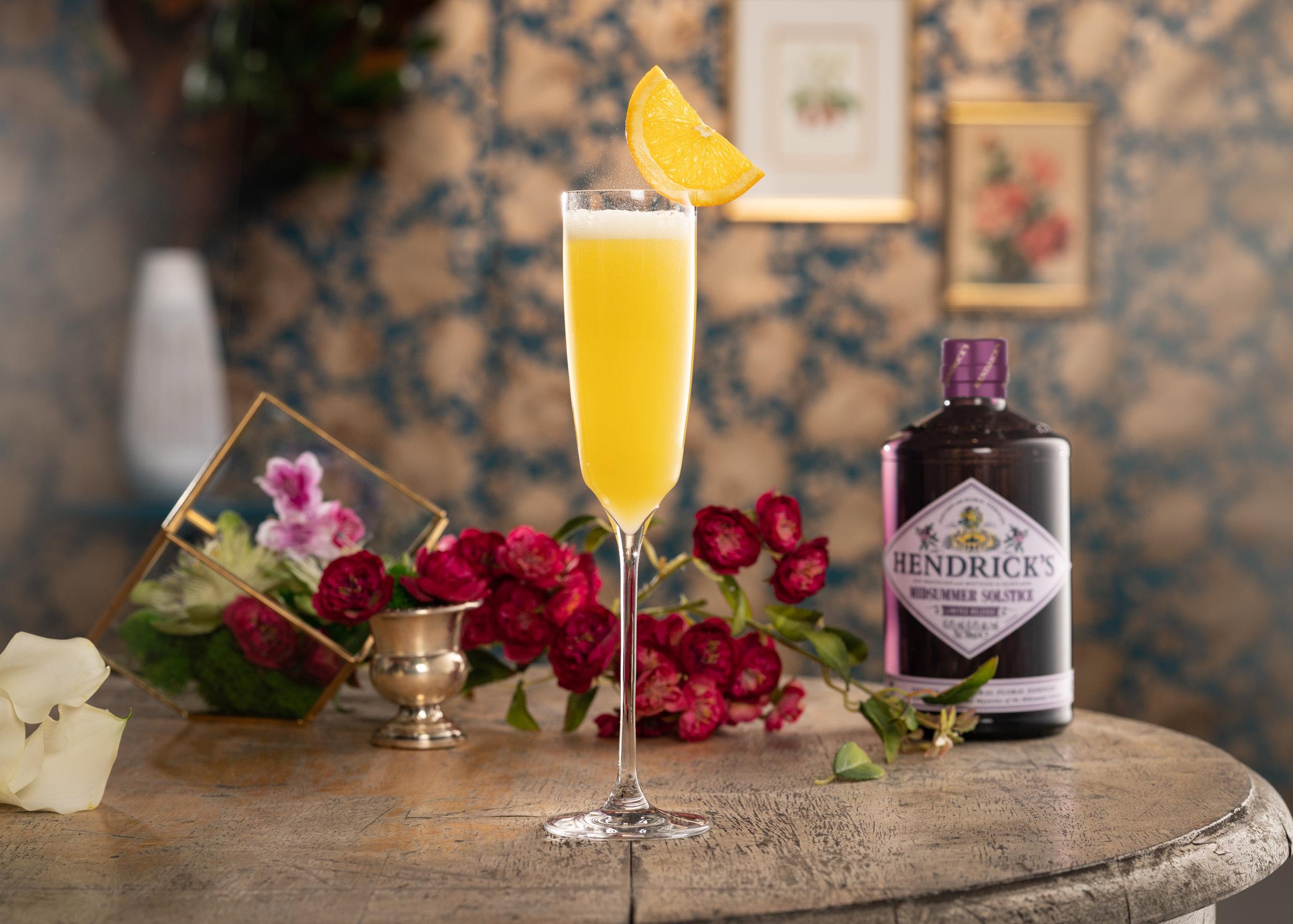 Hendrick's Gin Midsummer Solstice Mimosa