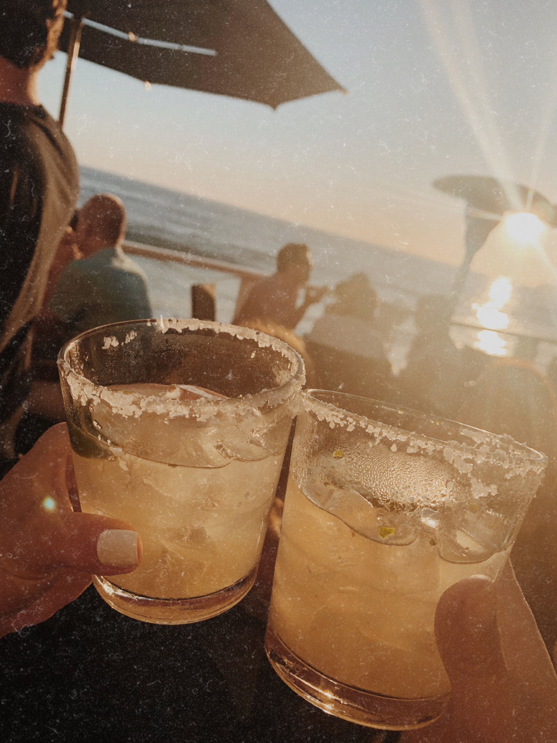 Cocktails at The Deck on Laguna Beach - The Gilded Bellini
