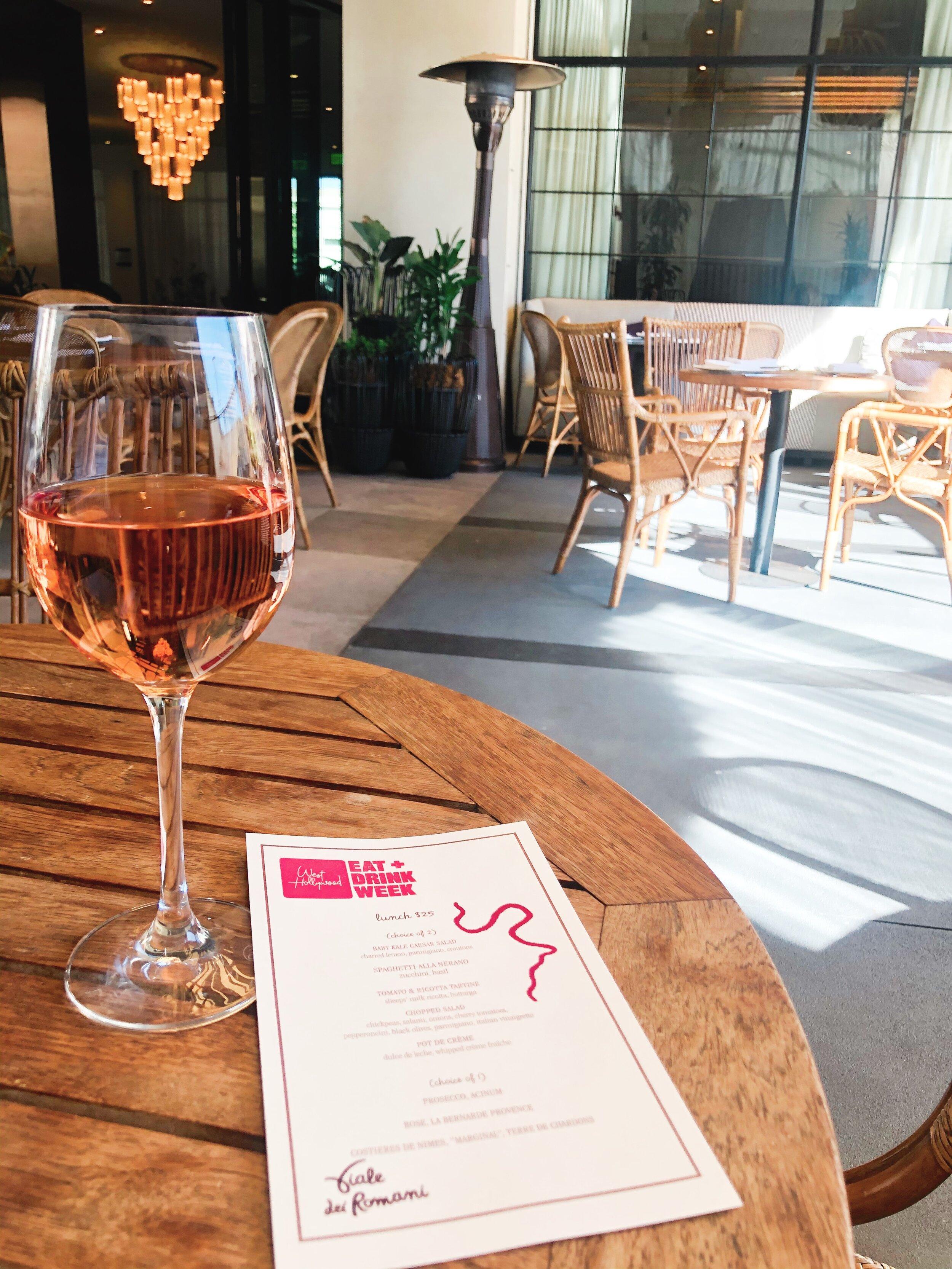 Viale Dei Romani - The Gilded Bellini - The Kimpton La Peer Hotel