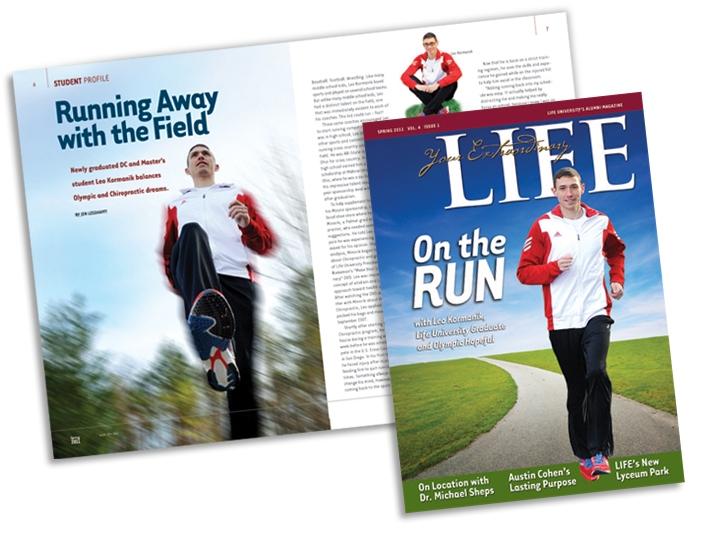 Alumni magazine for Life University