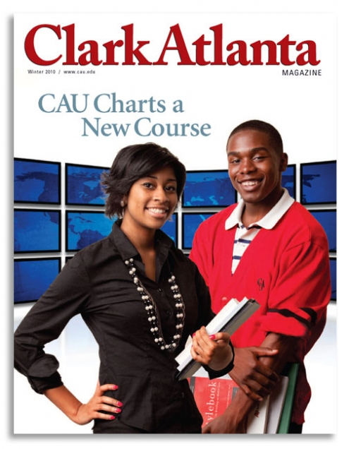 Alumni magazine for Clark Atlanta University