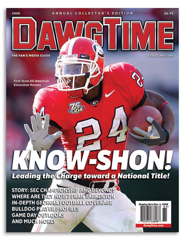 Magazine for season preview of the University of Georgia Bulldogs