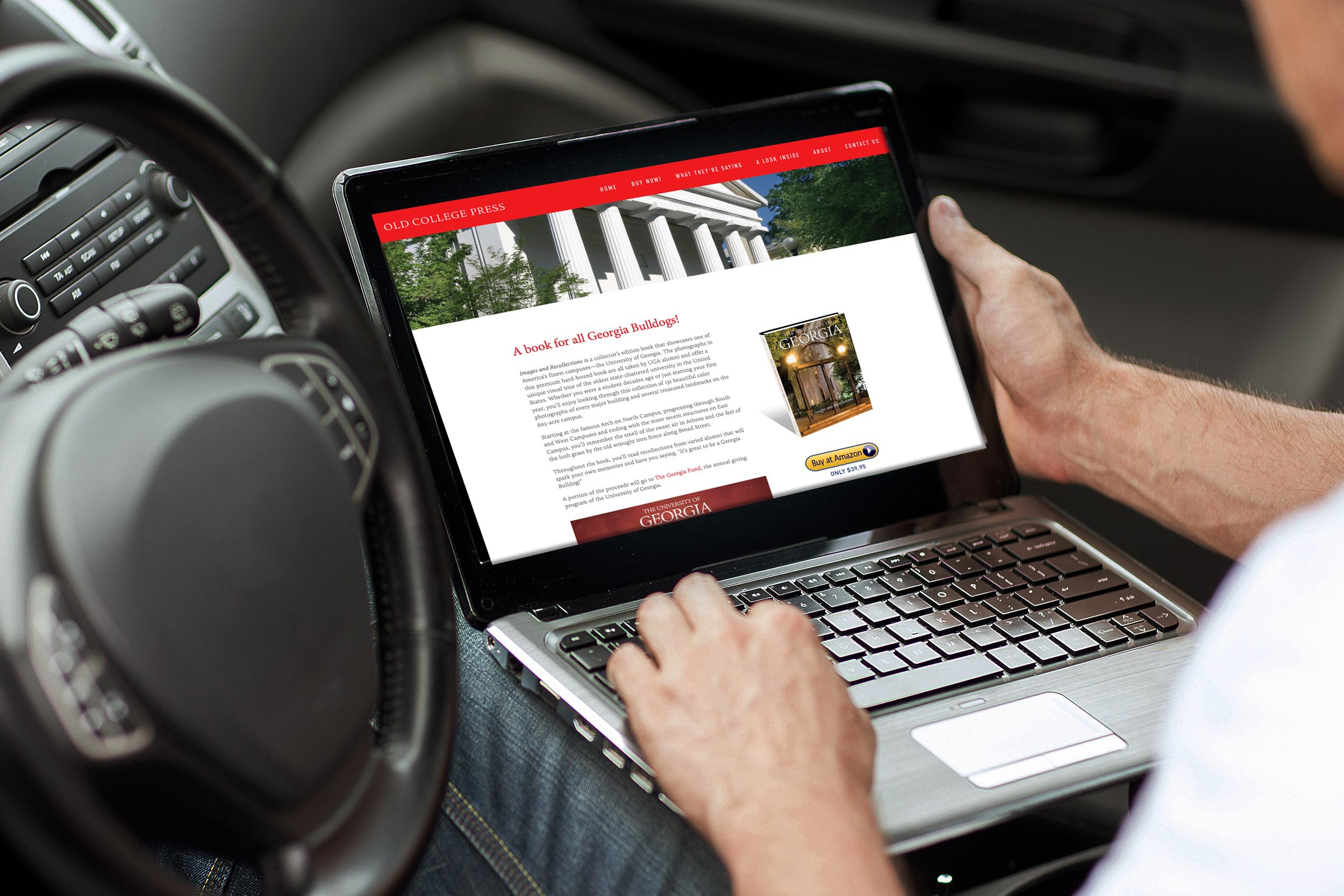 Old College Press web site