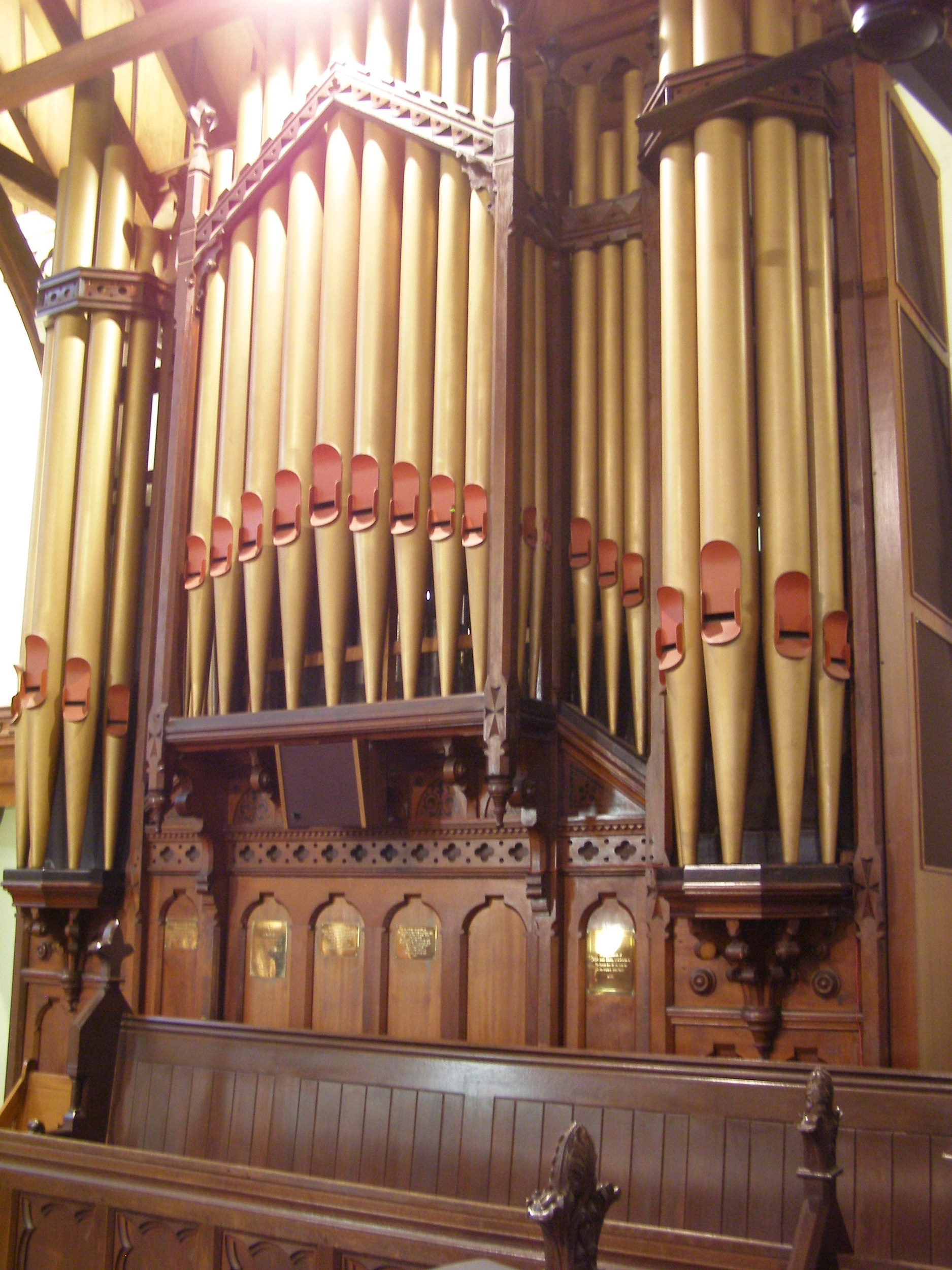 1882 Cole & Duckworth pipe organ