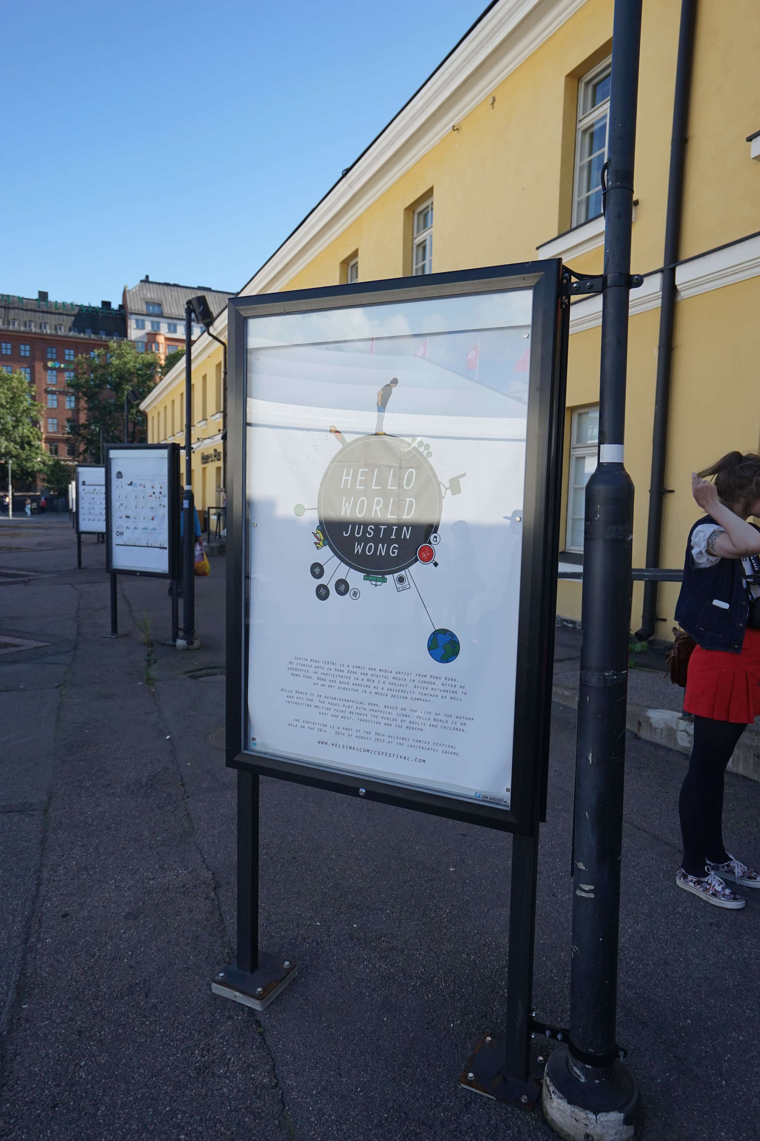Hello World @ Helsinki<br>(2015)