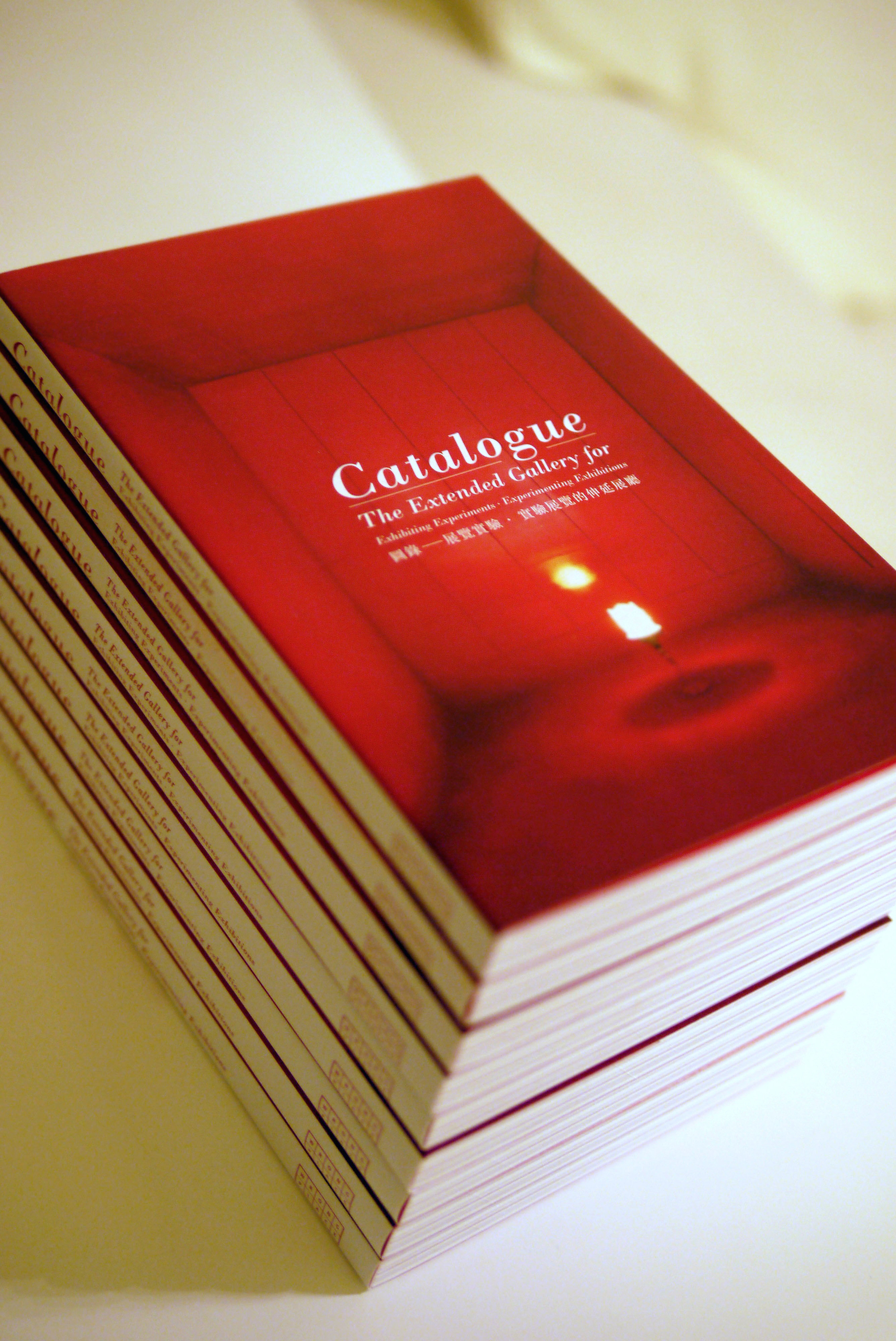 《Catalogue : The Extended Gallery for Exhibiting Experiment. Experimenting Exhibition》