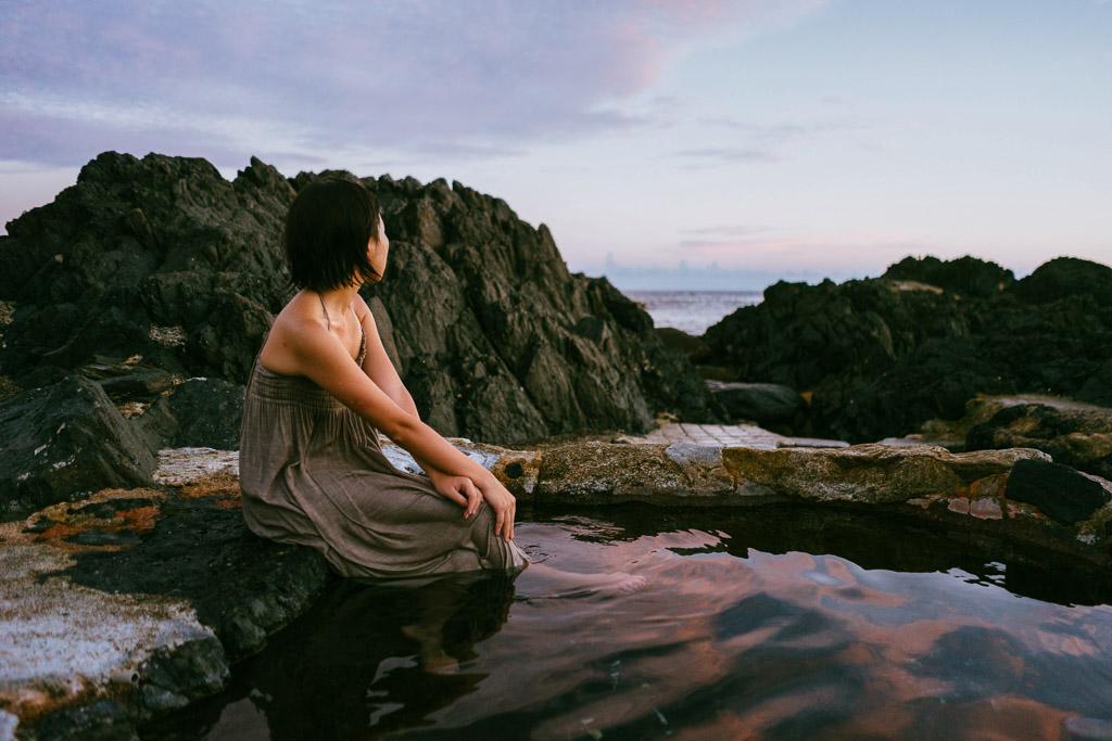 Hirauchi Onsen (平内温泉) Yakushima Island, Japan