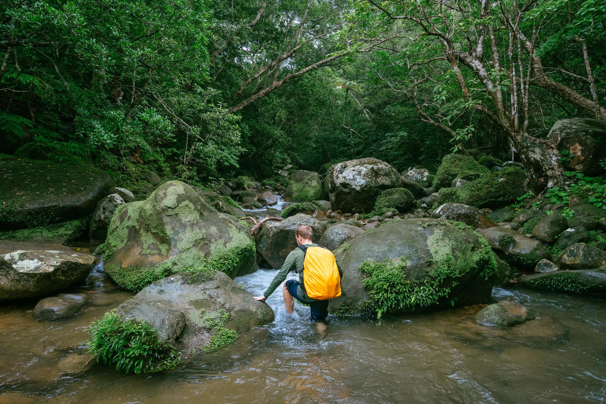Yutsun Falls Trail