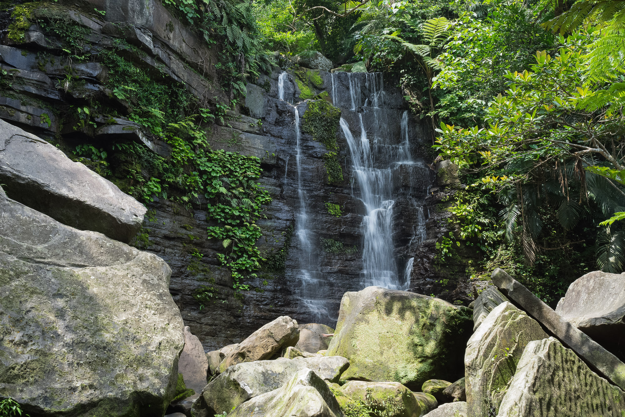 Stream Trekking to Geta Falls