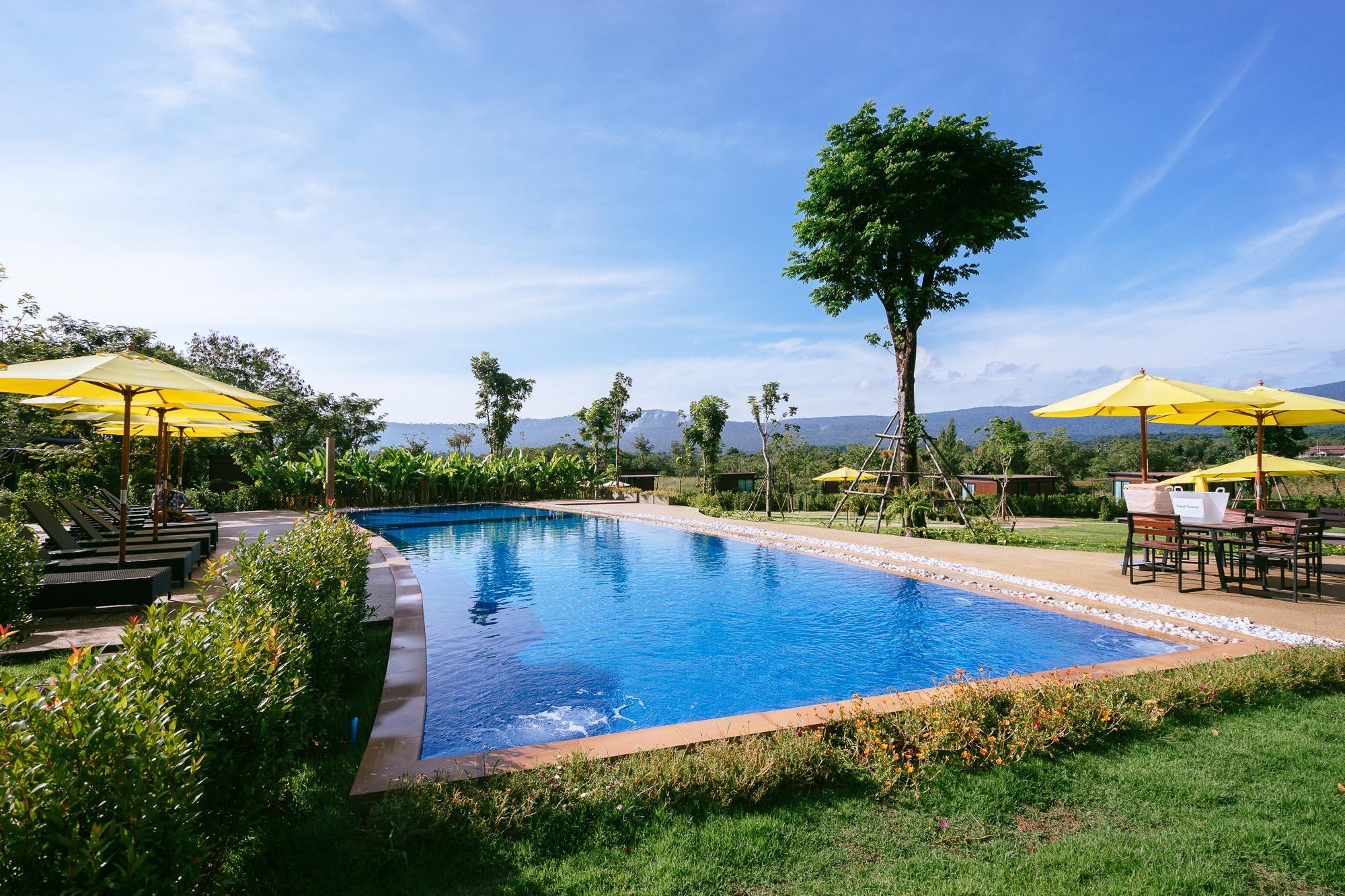 One of Khao Yai's many beautiful hotels and resorts - Limon Villa Khao Yai