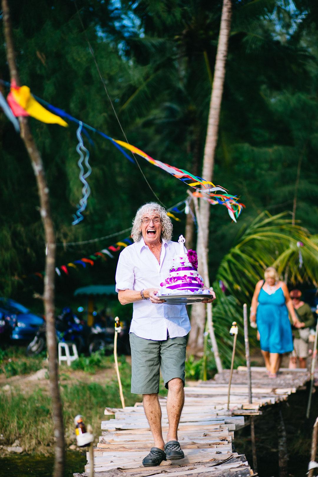 Beach Wedding in Thailand