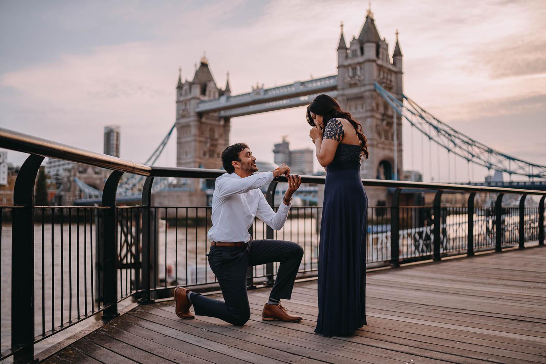 London Surprise Proposal Photographer