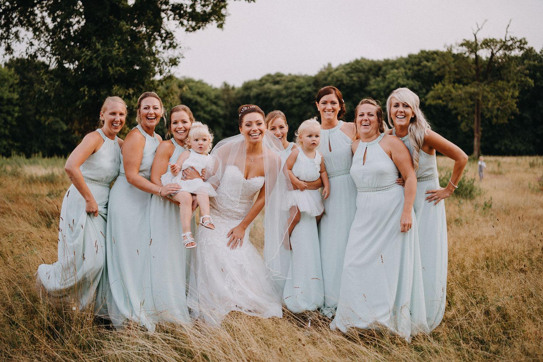 Bridesmaid portrait - Kent Wedding Photographer