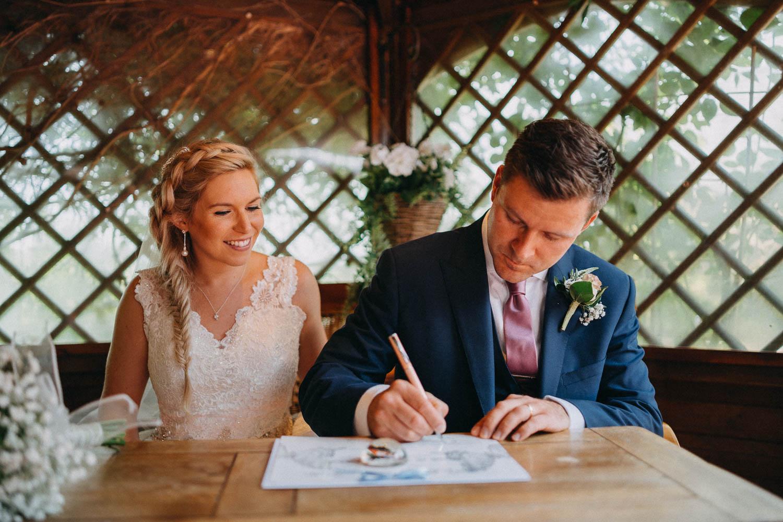 Wedding at the Black Horse Inn, Thurnham