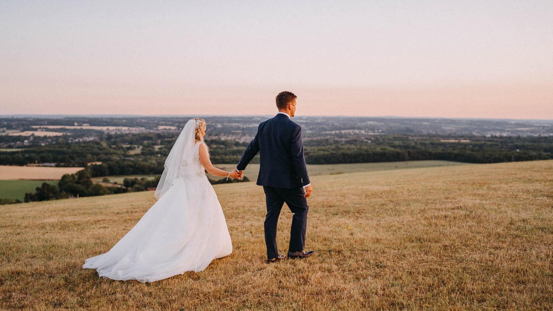 Natural Wedding Photography in Kent, UK