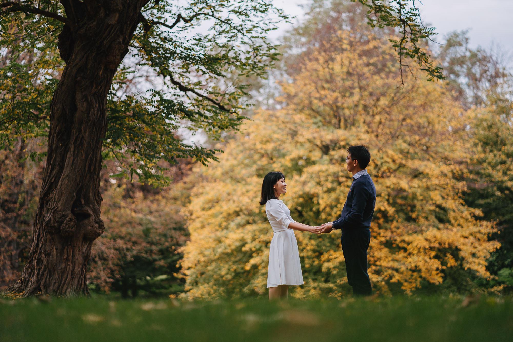 Natural London Couples Portrait Photographer