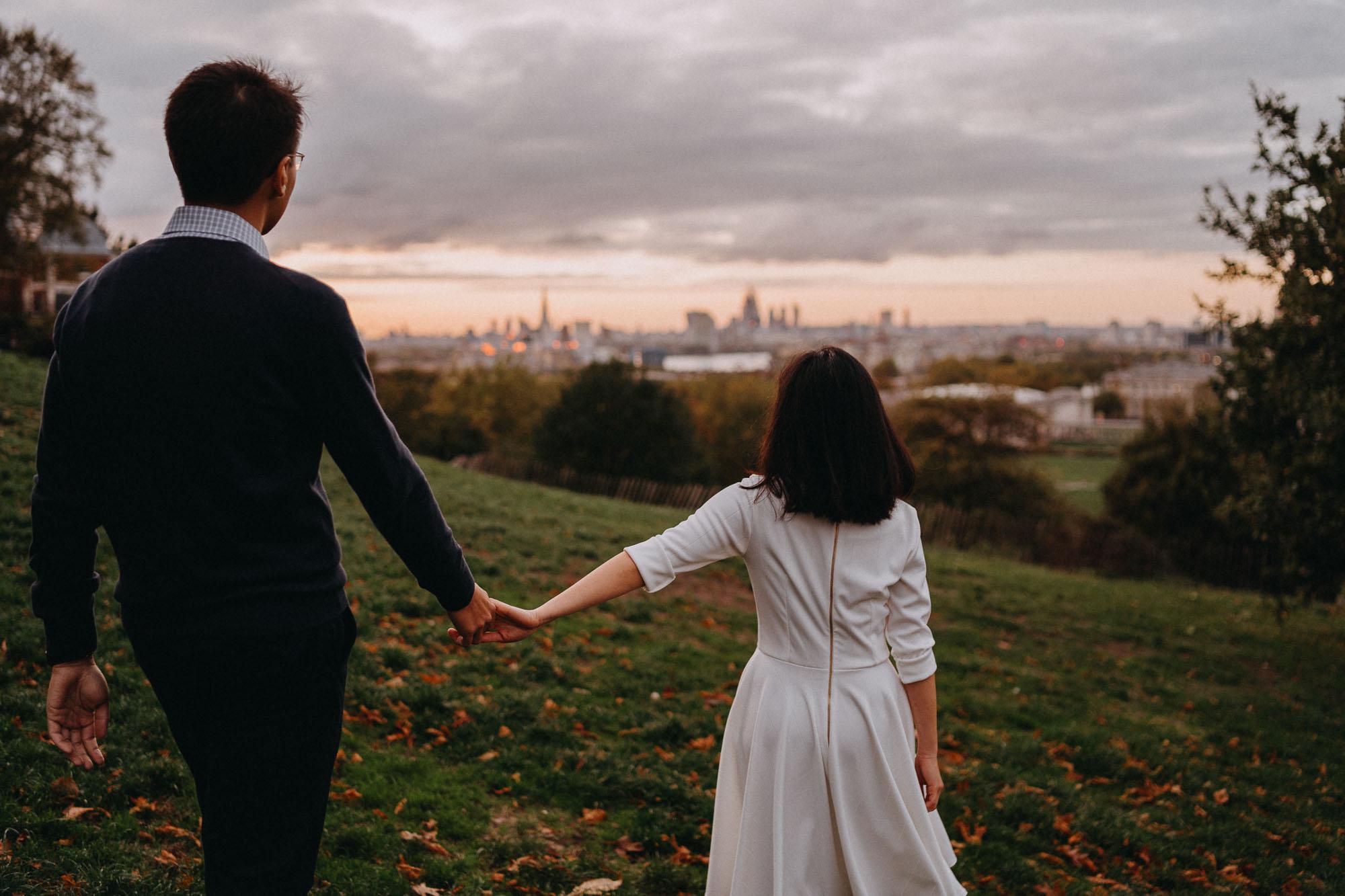 Candid London Couples Portrait Photographer