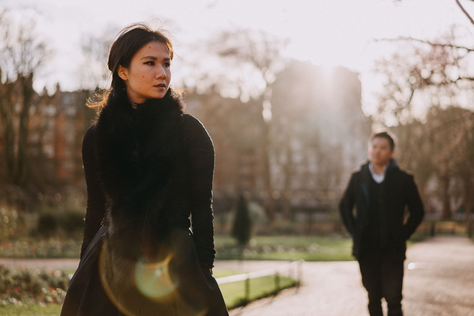 Alternative London Couples Portrait Photographer