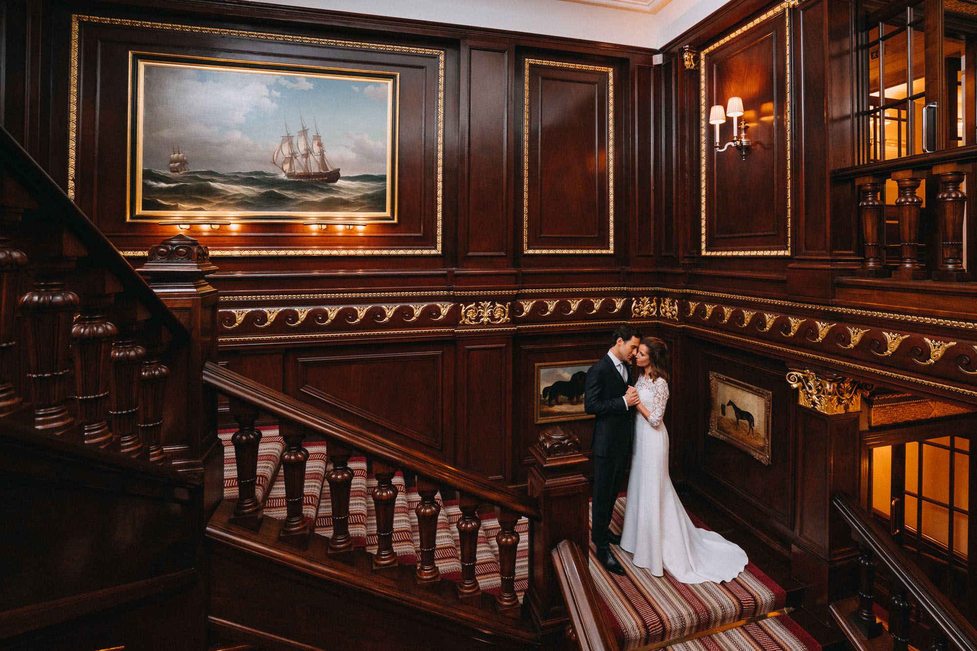 Connaught Hotel Wedding Photographer, London