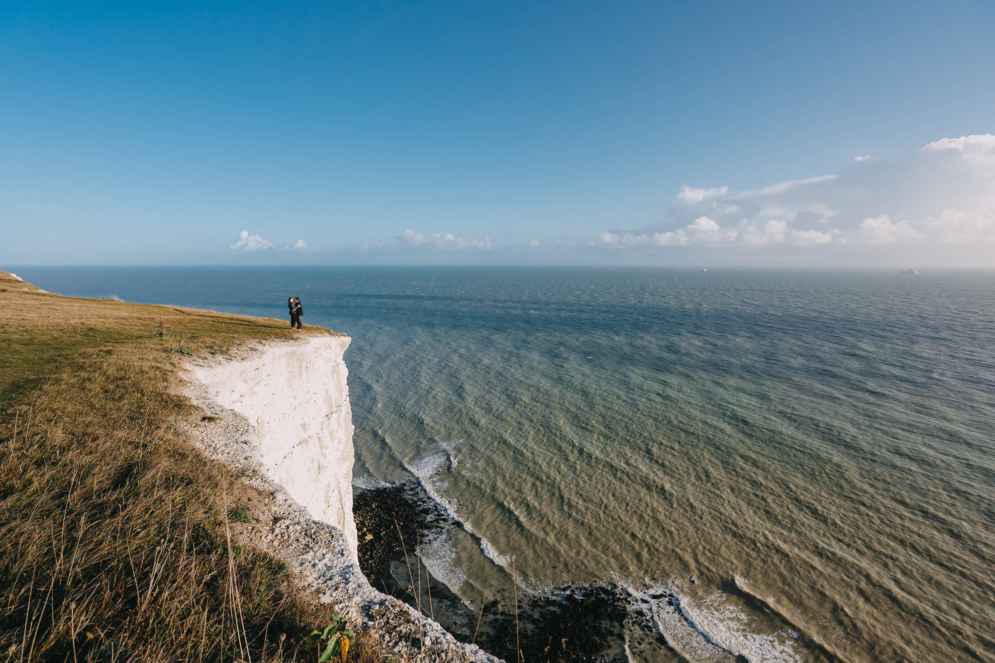 Surprise Proposal Photographer White Cliffs of Dover