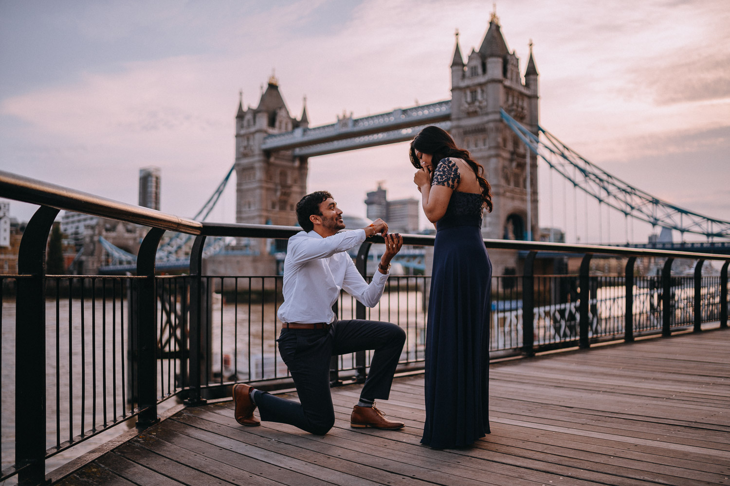 Surprise Proposal Photographer in London