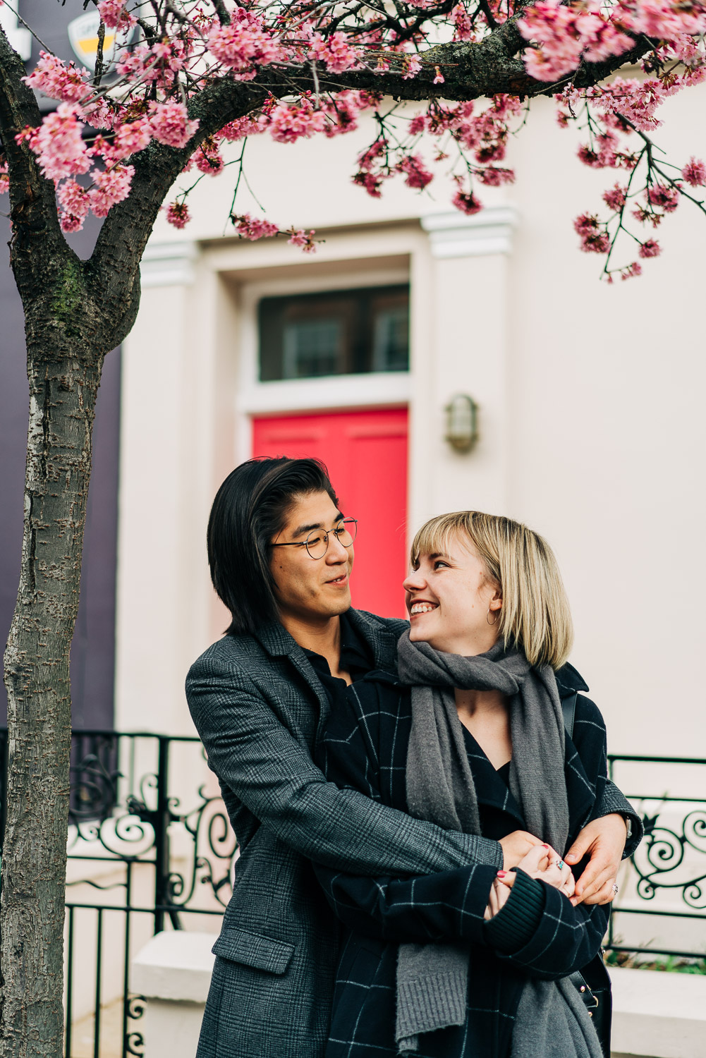 Couples portrait photography in Notting Hill, London