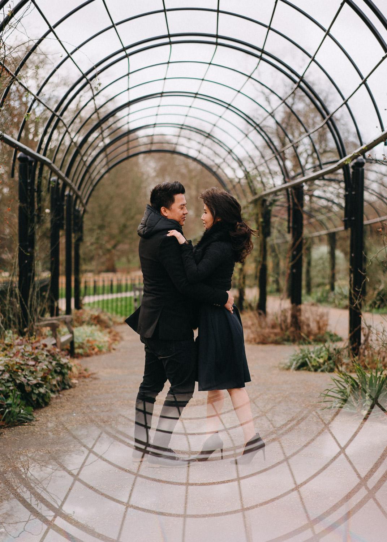 Hyde Park engagement photoshoot, London