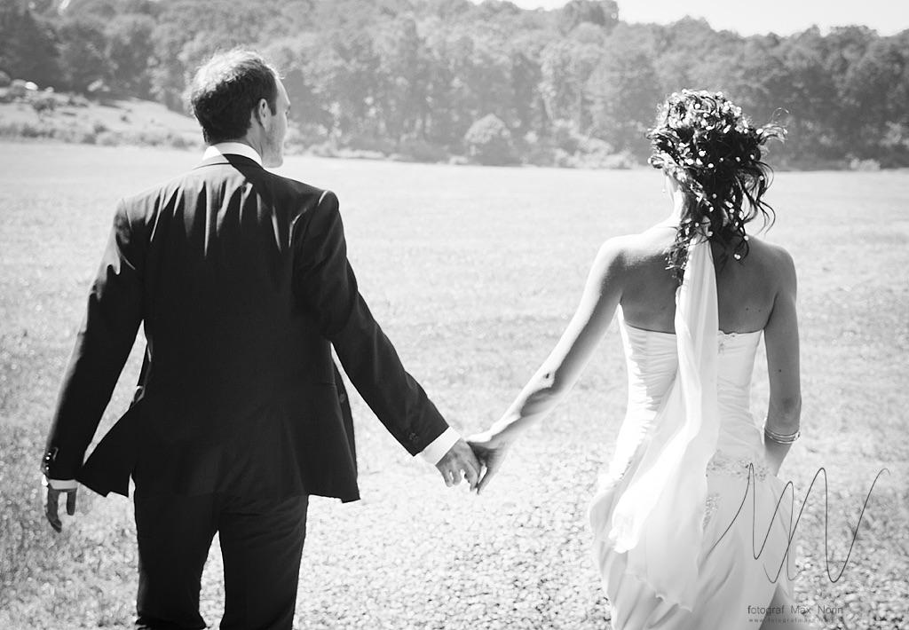 Petter och Samira. En favoritbild från mitt första bröllop som fotograf.