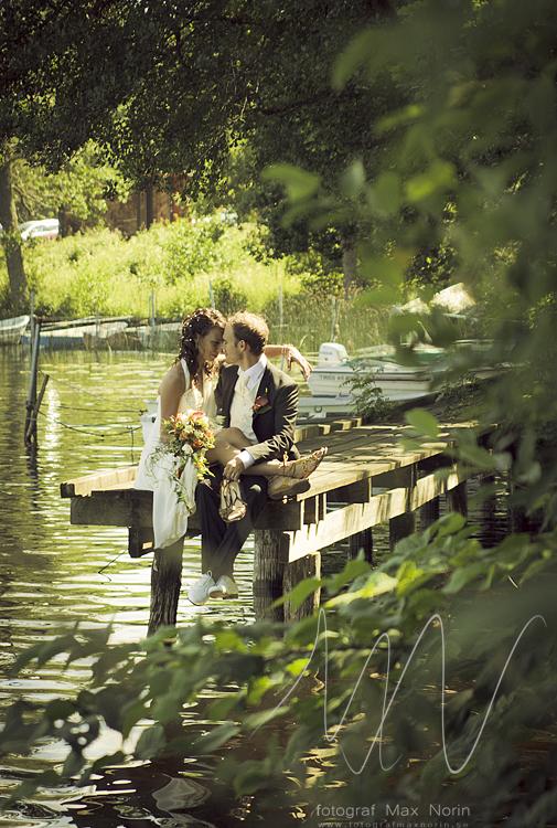 En annan bild från mitt första bröllop. Min bildstil skiljer sig en hel del från hur den ser ut idag. Men man måste ju börja någonstans!