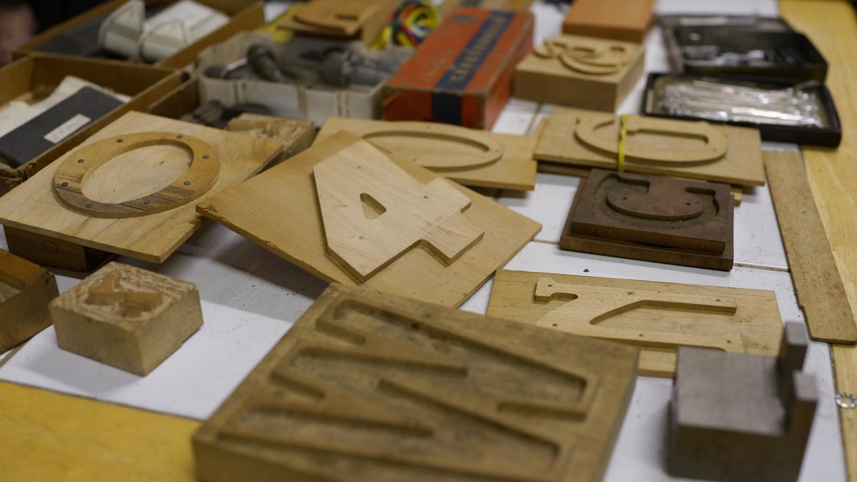 DeLittle woodtype patterns (© Richard Small)