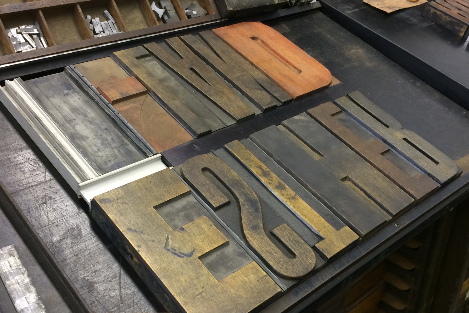 Letterpress Workshop. Wood Type.