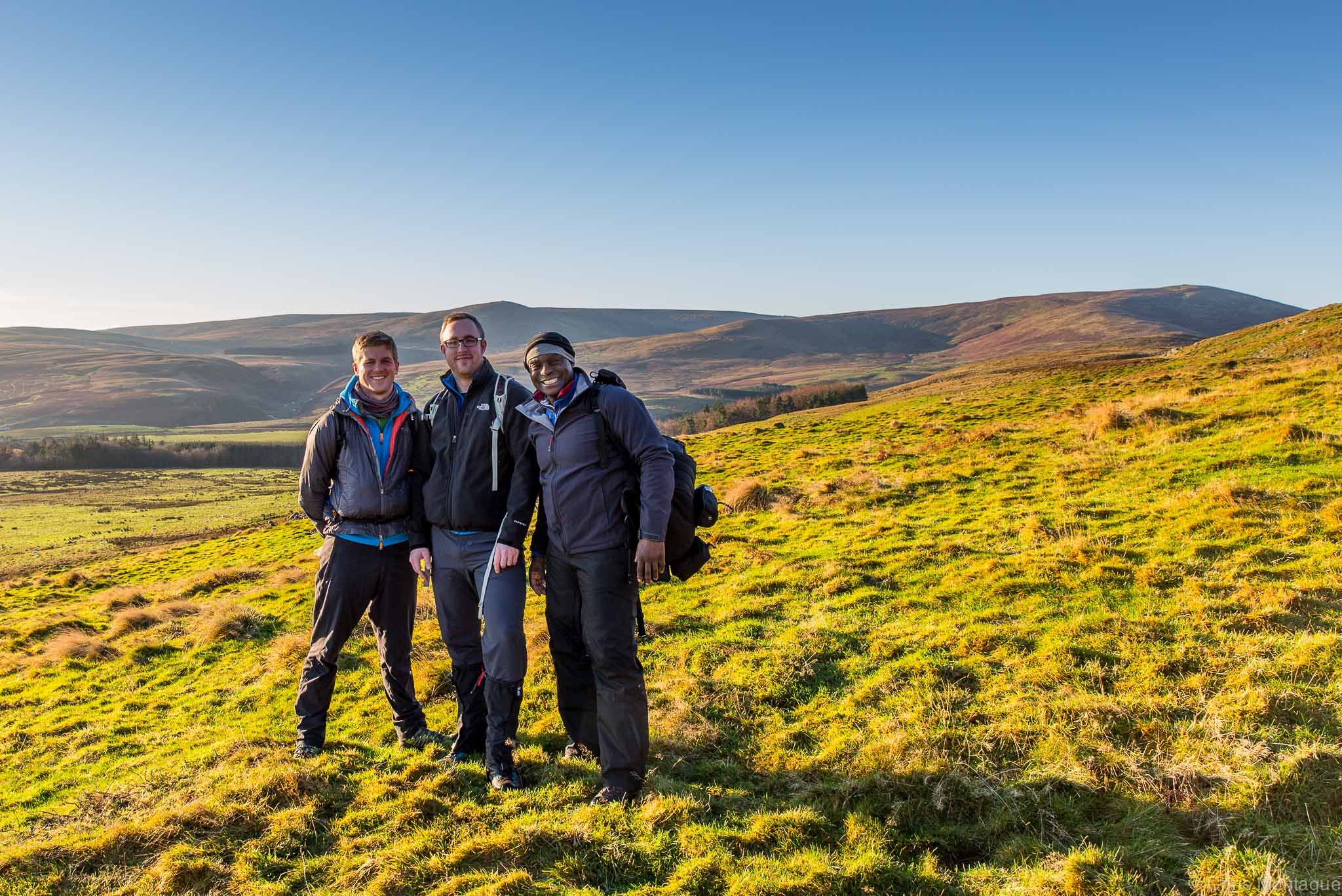 Figure 5: On the way to the top of Hedgehope Hill, Cheviots, Northumberland