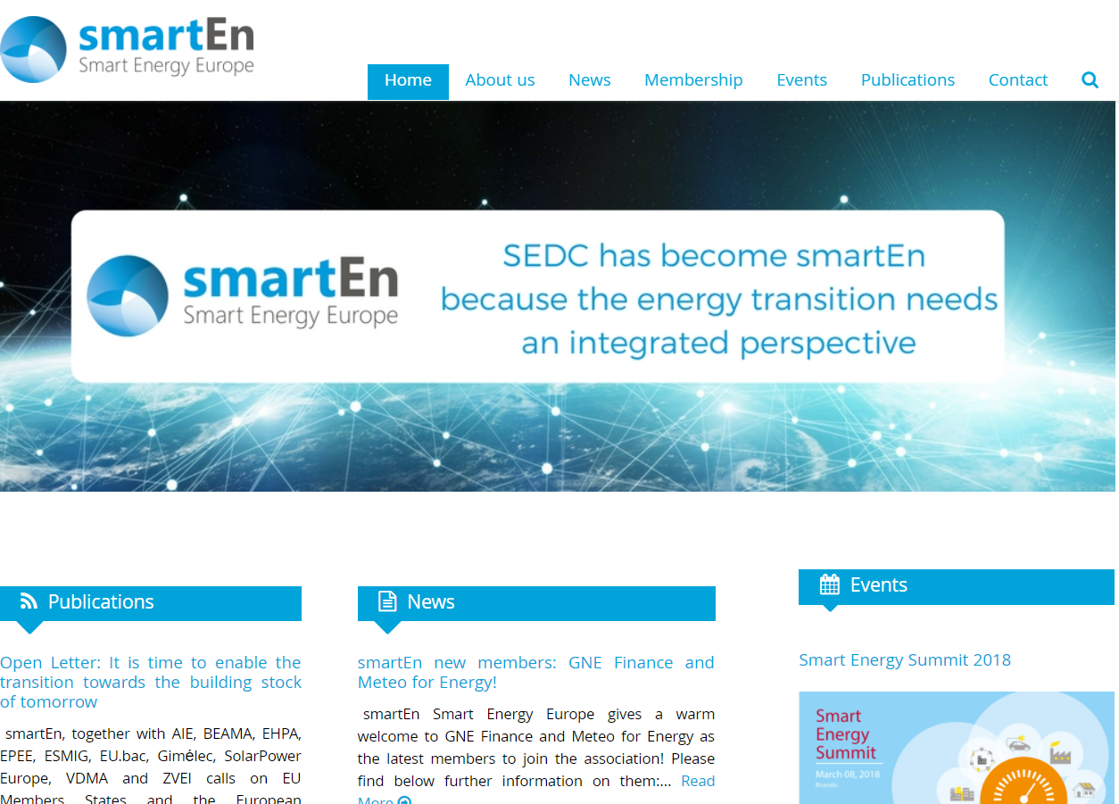 VaasaETT co-founded the smartEn:  http://www.smarten.eu