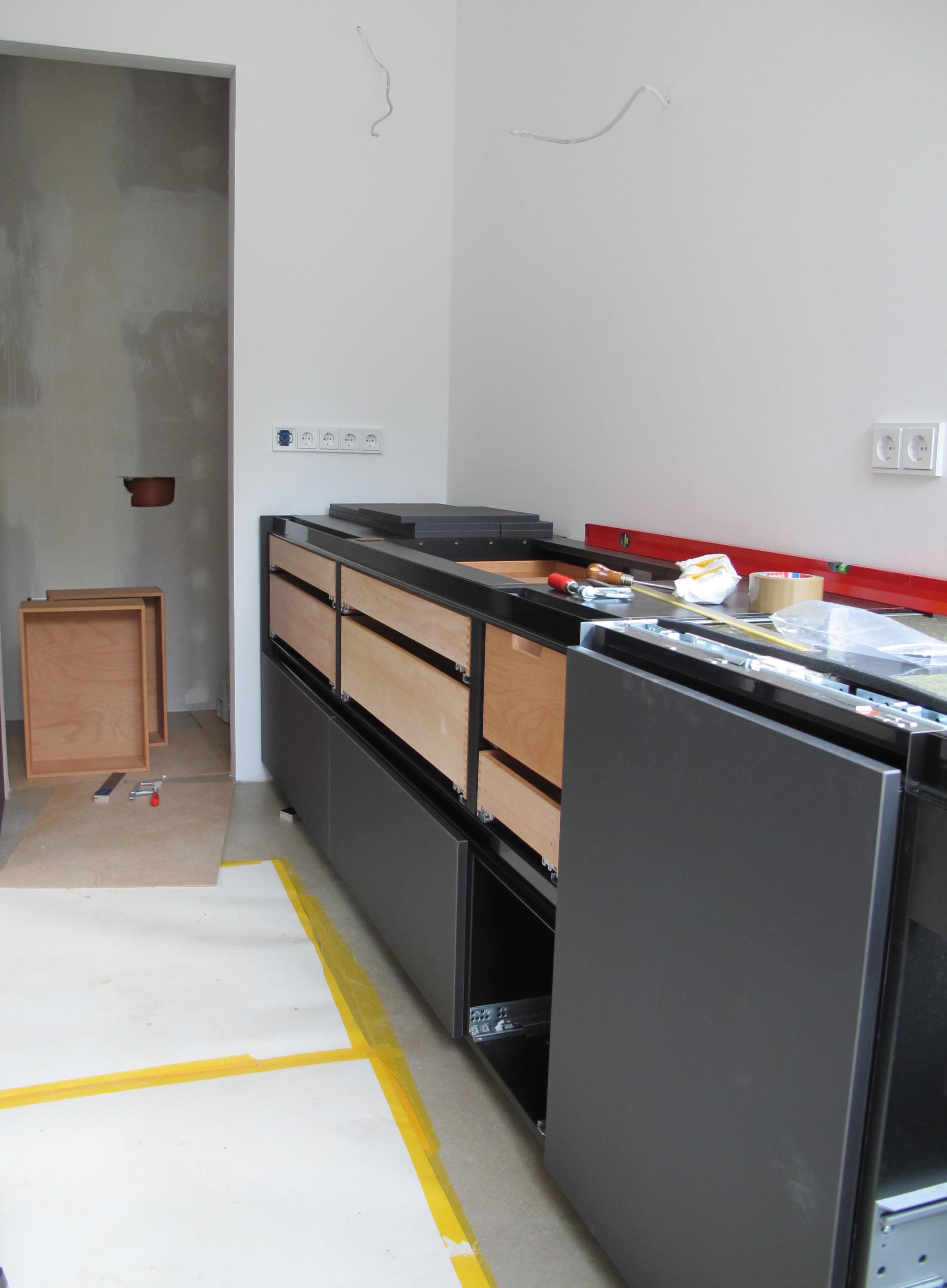 Sehr Linoleum Küche — SOLO möbel raum objekt OZ14