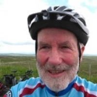 """Rides Secretary: Mike Codd - Mike didn't get a bike until he was 13, so he's only been cycling for 62 years. In the last 25 years, he and his wife, Jan, have cycled in Holland, Luxembourg, Belgium, France and Germany. Mike didn't take up cycling in groups until after moving to Lancaster, he met a bunch of old geezers in 2008 outside the nearby supermarket;""""The Thursday Riders"""". He was soon putting together their programme of weekly rides and, once,the group had affiliated with Cycling UK, Mike took on planning of the Lancaster and South Lakes CTC group Sunday Rides as well.Email: rides.ctclanc@gmail.com"""