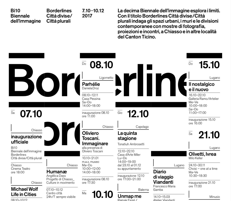 Biennale Chiasso Galleria Ramo