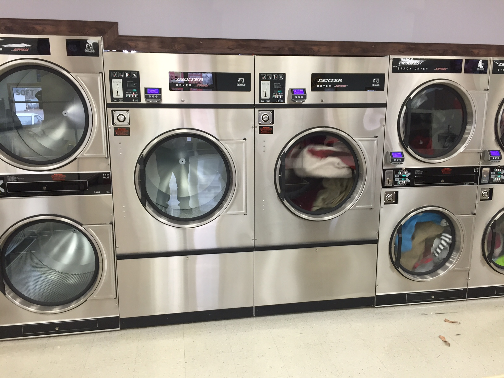 80lb DRYERS - LARGE LOADS AND COMFORTERS