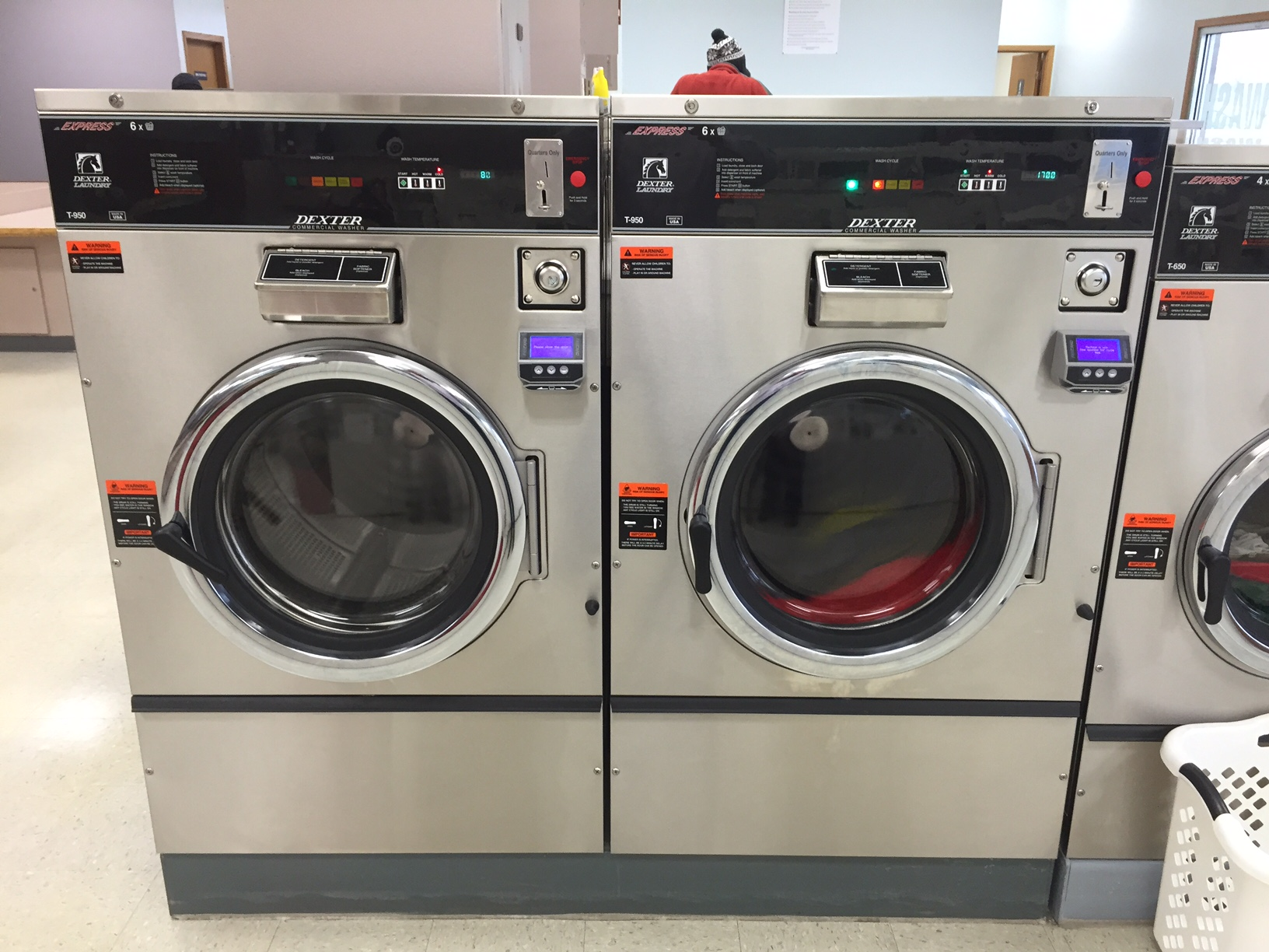 60LB WASHERS - CREDIT CARD CAPABLE