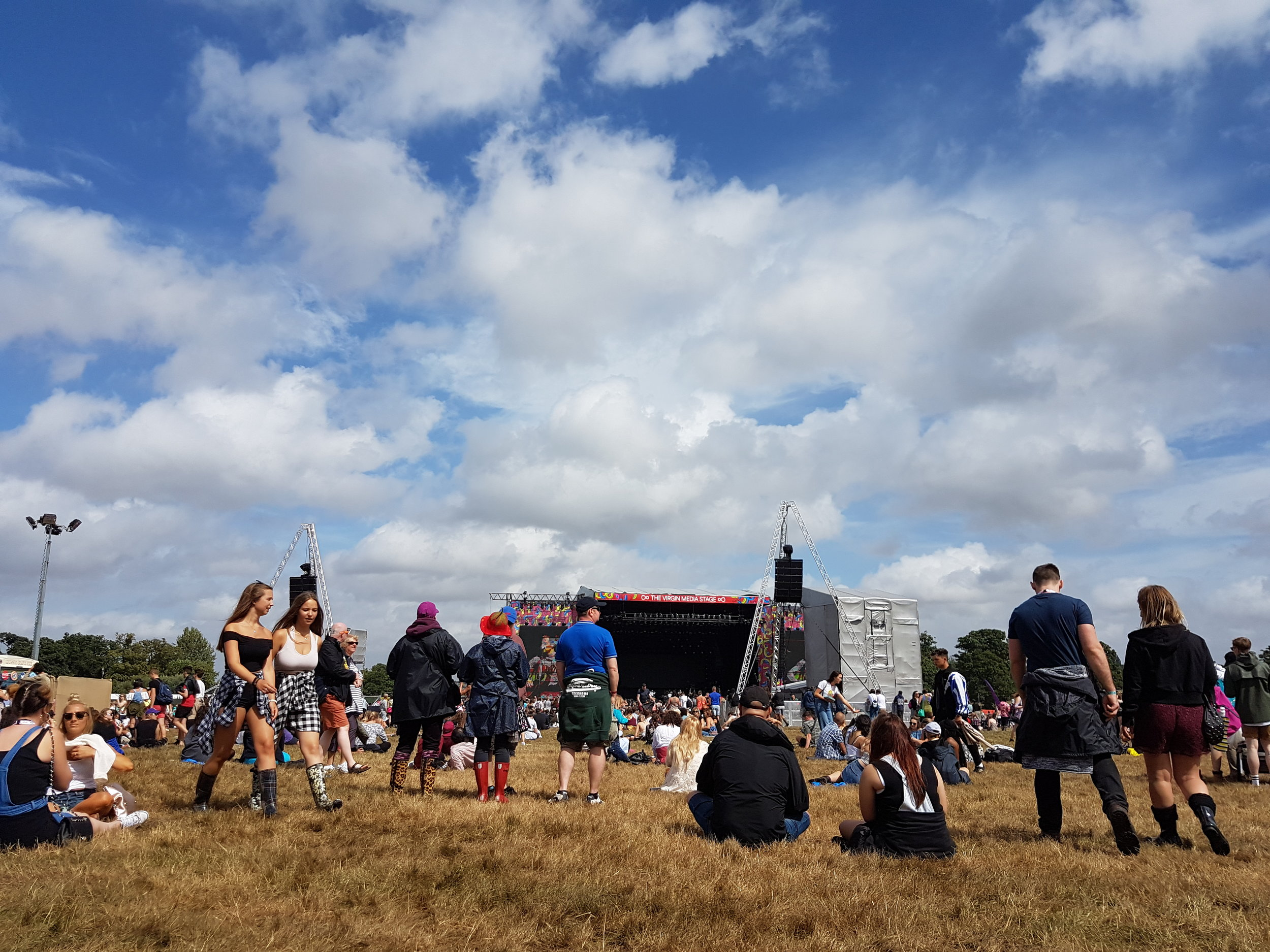 A shot of the Main Stage Area