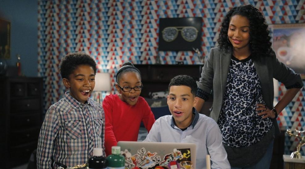 The kids of  Black-ish - Source: JUSTJAREDJR.COM