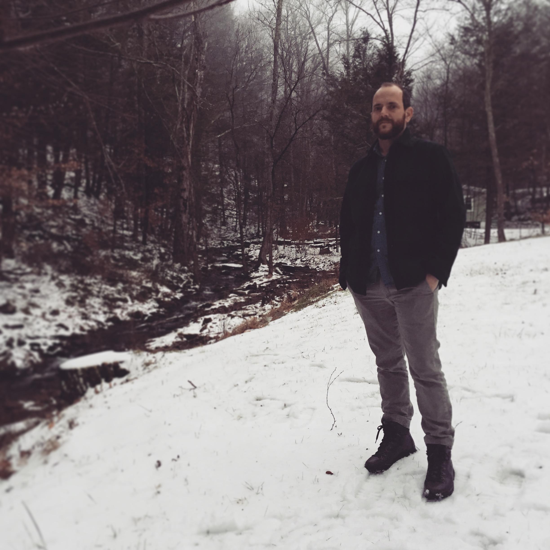 David Cavagnaro in Ashokan, NY Jan 2016