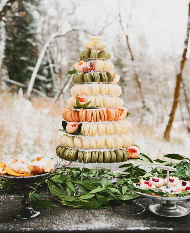 Inspiration för vinterbröllop: Holiday Season