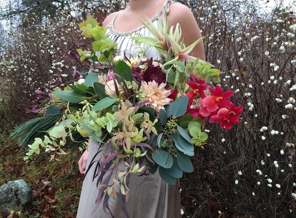 Tips från floristen: Buketter på vinterbröllop
