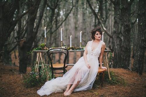 Enchanted Forest Editorial: Inspirerat av Stravinsky's 'The Firebird'