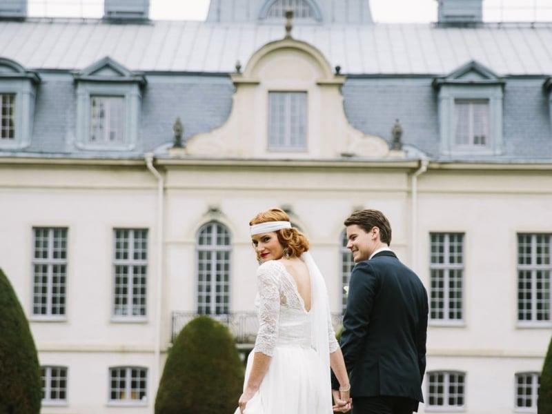 Fira in det nya året med ett bröllop i Great Gatsby-tema
