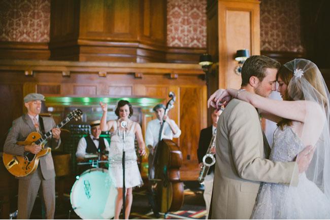 Bröllopsinspiration: Great Gatsbytema