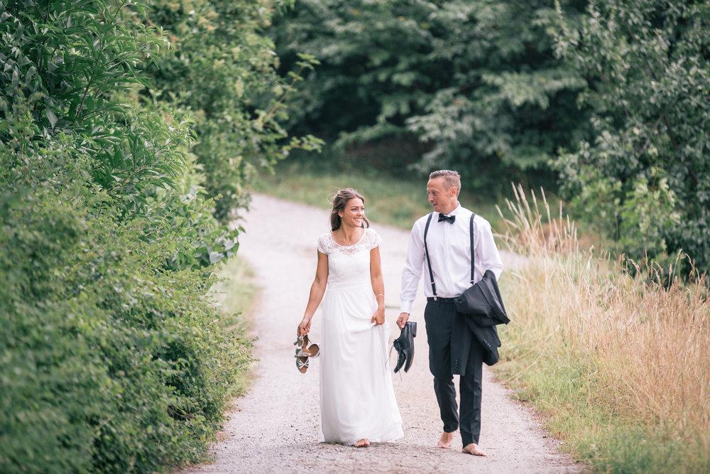 Personligt bröllop vid Mälaren: Jessica och Jacob