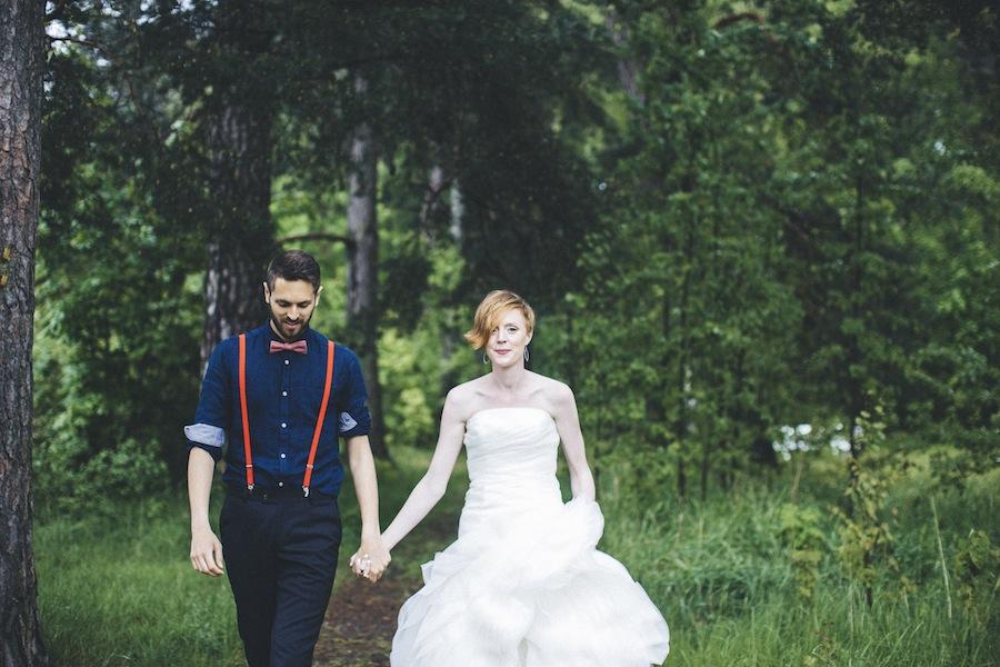 Majbröllop på Abborrebergs veranda: Ann-Christine och Oscar
