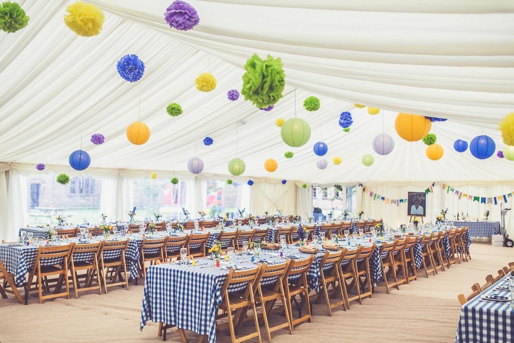 Bröllopsinspiration: Starka färger